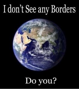 i don't see any borders